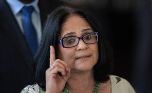 Damares Alves, la nouvelle ministre de la Femme, de la Famille et des Droits de l'homme, du gouvernement de Jair Bolsonaro, le 6 décembre 2018 à Brasilia.