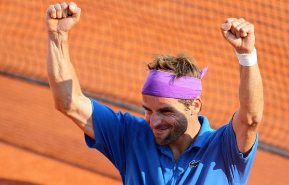 Le Français Arnaud Clément, le 28 mai 2012, àRoland-Garros. – REUTERS/Francois Lenoir