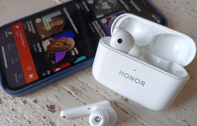 Les écouteurs Earbuds 2 Lite d'Honor.