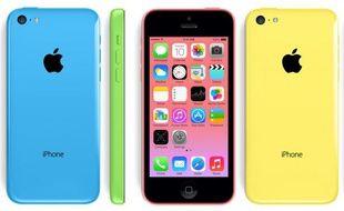 L'iPhone 5C est recouvert d'une couche en polycarbonate.