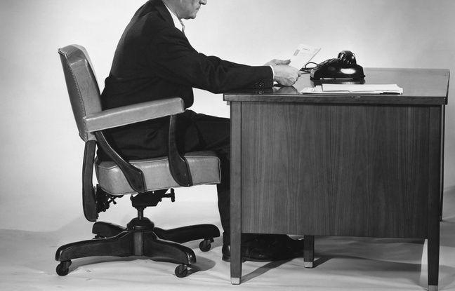 Un bureau au XXe siècle.