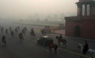 New Delhi, en Inde.