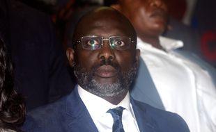 L'ancien joueur du PSG, Georges Weah, est devenu président de la République du Libéria
