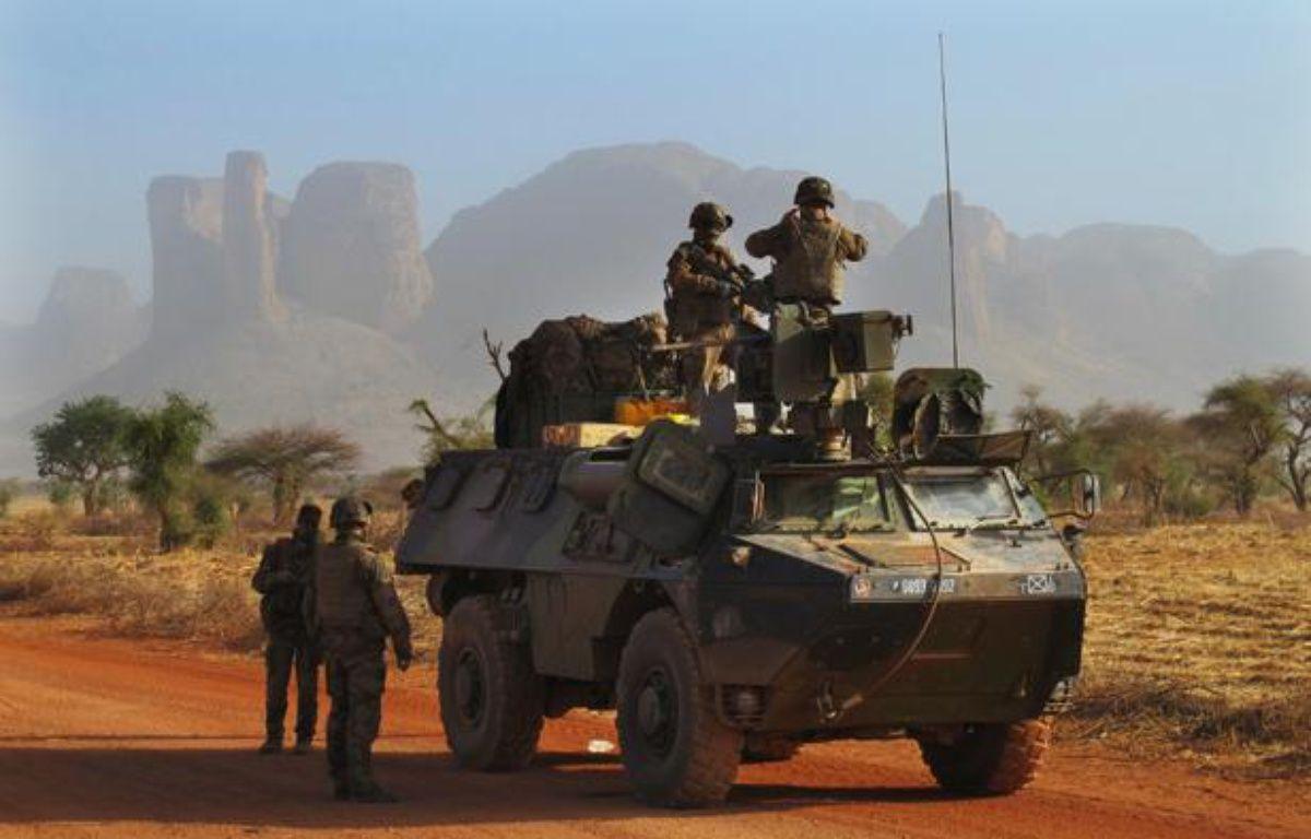 Des soldats français près de Douentza (Mali), le 7 février 2013. – D.LEWIS / REUTERS