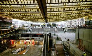 La Canopée des Halles, le 27 janvier 2016 à Paris