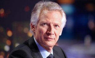 Dominique de Villepin, le 11 décembre 2011, sur le plateau de TF1.