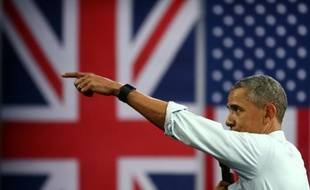 Barack Obama à Londres, le 23 avril 2016