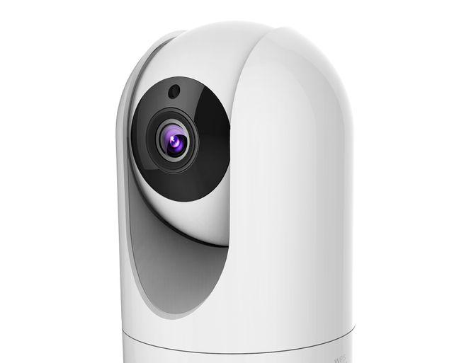 Une petite caméra pour vidéosurveillance.