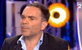 Yann Moix invité par Laurent Ruquier dans «On n'est pas couché» après l'exhumation de textes antisémites fin août 2019.