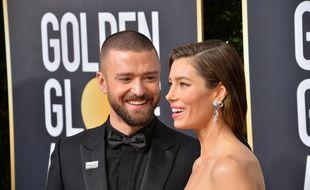 Les époux Justin Timberlake et Jessica Biel