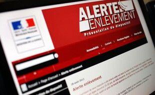 Le site Internet du ministère de la Justice. (illustration)