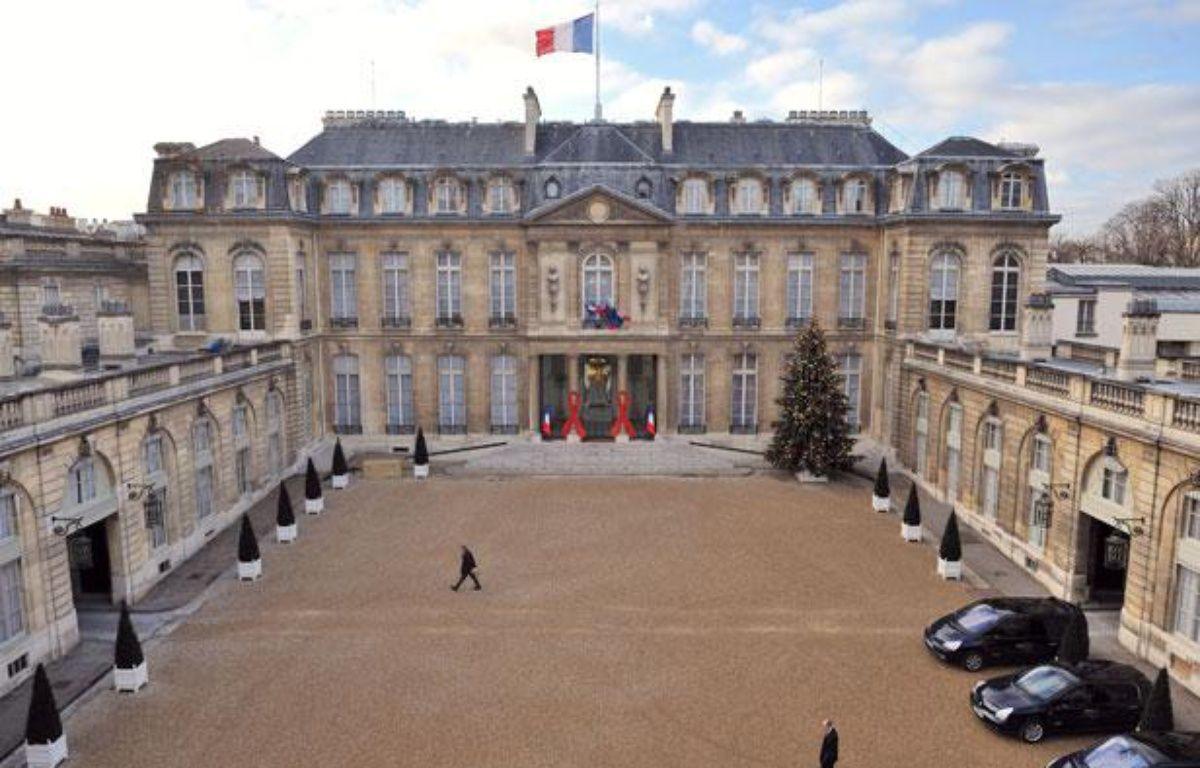 Vue du palais de l'Elysée. – E. FEFERBERG / AFP