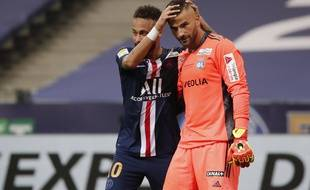 Neymar et Anthony Lopes