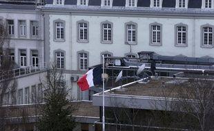 Illustration du siège de la Direction générale de la Sécurité extérieure (DGSE) à Paris.