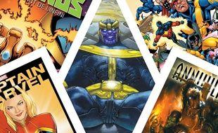 Sélection de comics à lire avant d'aller voir Avengers Endgame