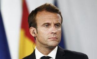Emmanuel Macron à Madrid, le 26 juillet 2018.