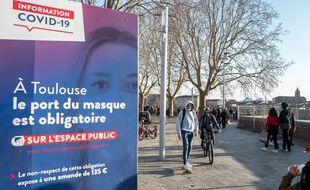 Le port du masque est à nouveau obligatoire à Toulouse dans certaines zones.