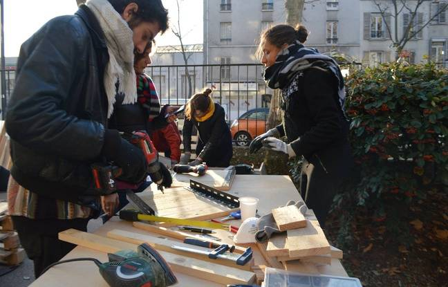 Création d'un garde-manger solidaire dans la 12e arrondissement (Illustration)