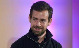 Jack Dorsey cofondateur et directeur général de Twitter le 20 novembre 2014 à Londres.