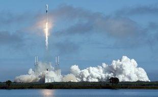 La fusée Falcon 9 de SpaceX transportait 60 nouveaux satellites lors de son lancement, réalisé ce lundi