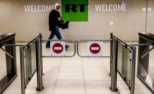 Le siège de RT à Moscou (illustration).