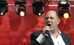 Michel Delpech en mai 2007.