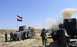 Soutenues par l'aviation de la coalition internationale et conduites par l'unité d'élite irakienne de contre-terrorisme, les forces gouvernementales sont entrées lundi dans Fallouja pour chasser l'EI de ce bastion djihadiste situé à 50 km à l'ouest de Bagdad.