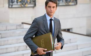 Gabriel Attal, le 25 août 2021.