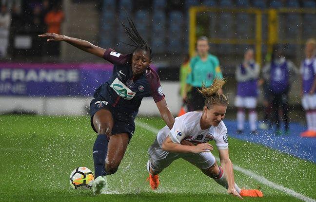 VIDEO. Coupe de France féminine: Paris bat Lyon à l'issue d'une finale interrompue par un violent orage
