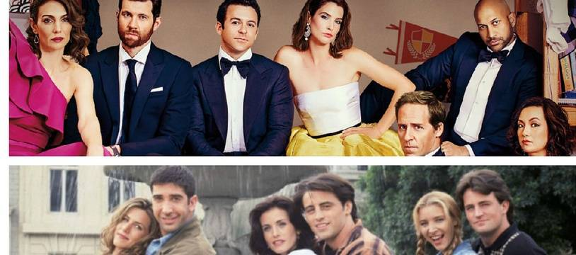 «Friends from College» (Netflix) et «Friends» (NBC)
