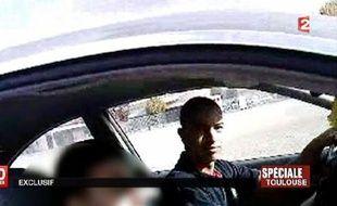 Capture d'écran de France 2 fournie le 21 mars 2013 par la chaîne de Mohamed Merah