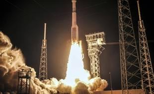 La capsule Starliner lors de son décollage à Cape Canaveral (Floride), le 20 décembre 2019.
