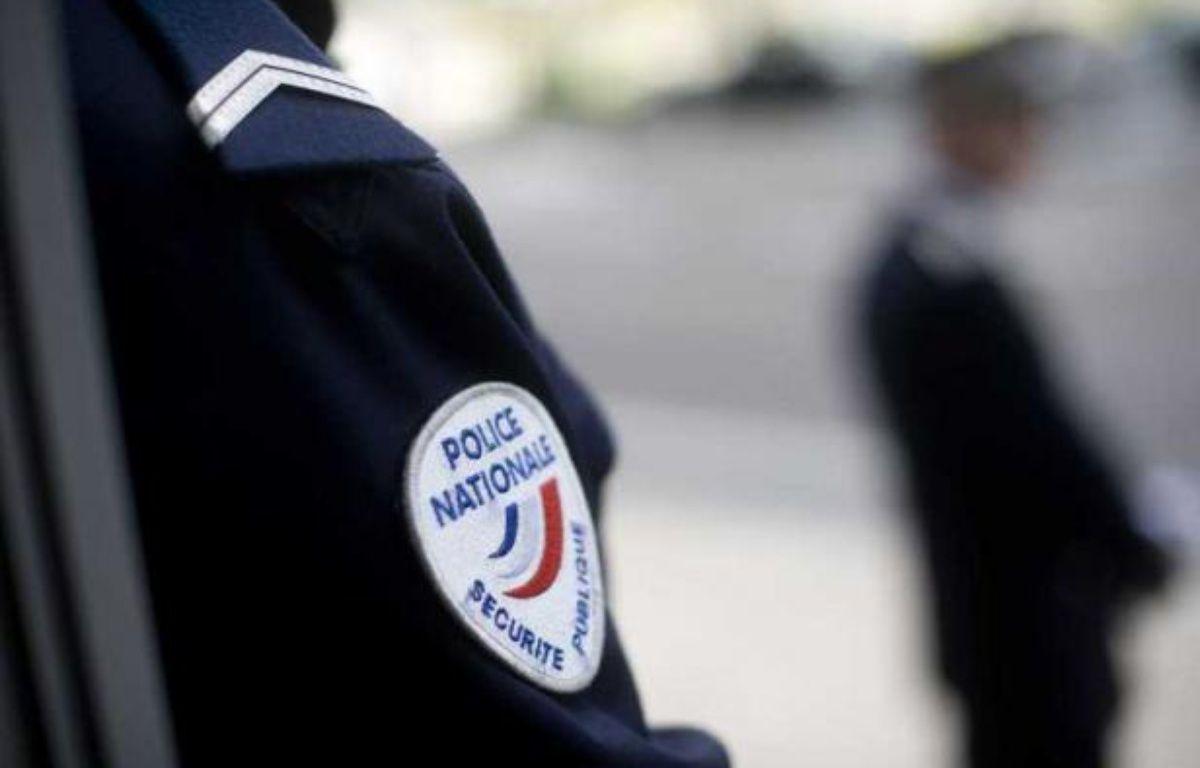 Un policier, à Nantes, le 4 avril 2011. – SIPA/ JS Evrard