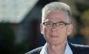 Jean-Marc Peillex, le maire de Saint-Gervais, qui a accueilli Emmanuel Macron jeudi dernier en Haute-Savoie.