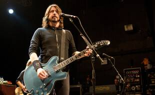 Le rockeur Dave Grohl