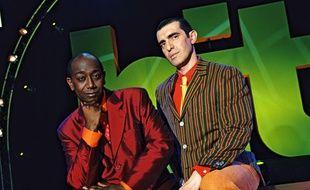 Le tandem Charly et Lulu à la grande époque du Hit Machine, diffusé le samedi matin sur M6.