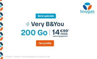 L'offre B&YOU 200Go à 14,99€ est prolongée jusqu'au 27 avril.