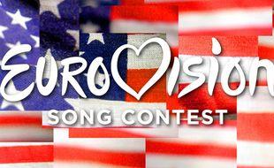 Visuel de présentation de l'American Song Contest.
