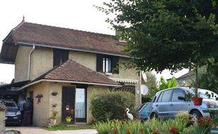 Lors de son interpellation, Nordahl Lelandais vivait dans cette maison de Domessin avec ses parents.