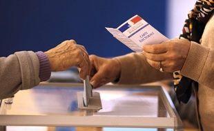 Illustration vote et élections. AP Photo/Lionel Cironneau