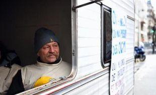 José Bové a commencé sa grève de la faim le 3 janvier pour obtenir l'activation par la France de la clause de sauvegarde sur le maïs OGM