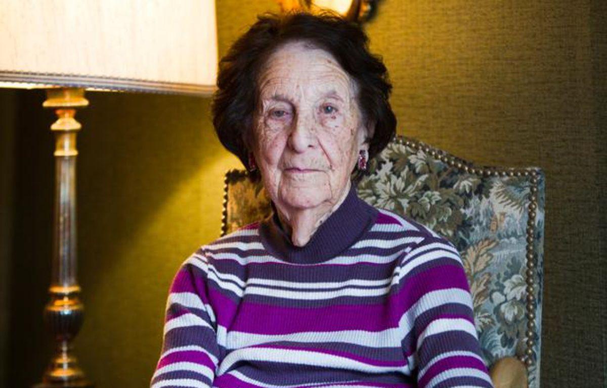 Gisèle Chaleyat, doyenne des Verts de Paris, le 27 janvier 2014. – VINCENT WARTNER/20MINUTES