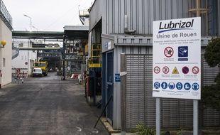 L'usine Lubrizol à Rouen, le 24 octobre 2019.