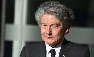 Thierry Breton, le 4 avril 2019 à Bézons.
