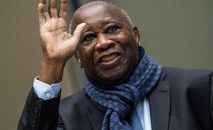 L'ancien président de la Côte d'Ivoire, Laurent Gbagbo, peu avant de passer devant la Cour pénal international à La Haye le 6 février 2020.
