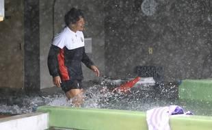 Les Japonais tentent d'aller à l'entraînement