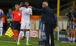 Claudio Ranieri et Riyad Marhez, un duo qui fonctionne bien à Leicester.