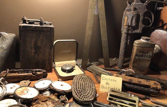 De nombreux objets d'époque sont conservés au musée de Bullecourt