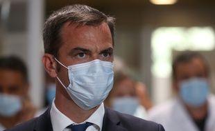 Olivier Véran, ministre de la Santé, le 11 août à Montpellier.