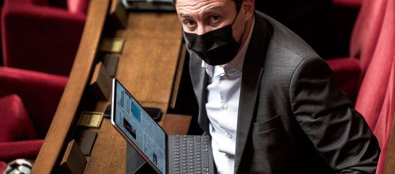 Benjamin Griveaux, lors des Questions au Gouvernement, à l'Assemblée Nationale, au Palais Bourbon, Paris, France, le 9 Février 2021.